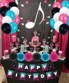 Тик тематическая вечеринка на день рождения украшения поставки, в комплекте с днем рождения баннер, воздушные шары, для мальчиков и девочек,...