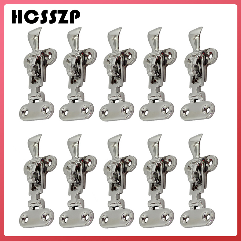 10 Pieces 110mm Anti Rattle Latch Fastener Marine Grade 316 Stainless Steel Boat Deck Locker Lockable Hold Down Clamp Hasp-in Marine Hardware from Automobiles & Motorcycles