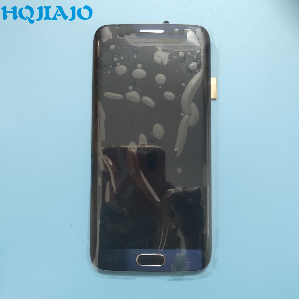 <font><b>Original</b></font> LCD For <font><b>Samsung</b></font> <font><b>S6</b></font> <font><b>edge</b></font> G925 LCD <font><b>Display</b></font> Touch Screen Digitizer For <font><b>Samsung</b></font> Galaxy <font><b>S6</b></font> <font><b>edge</b></font> G925 G925F G925A With Frame image