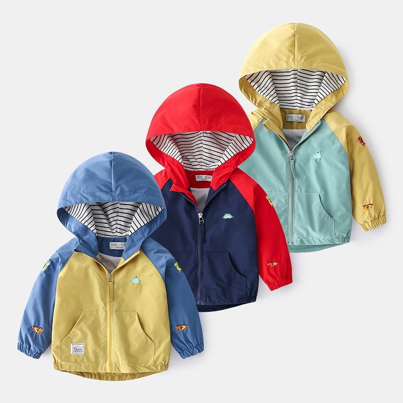 Boys jacket spring jacket 2021 Korean cartoon new children's clothing spring baby assault clothing 1014 08
