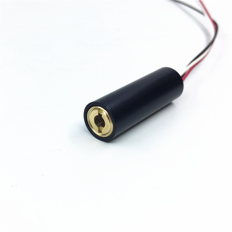 10mm 520nm 3/5V DC 5mW Green Dot  Laser Module  Focusable Positioning