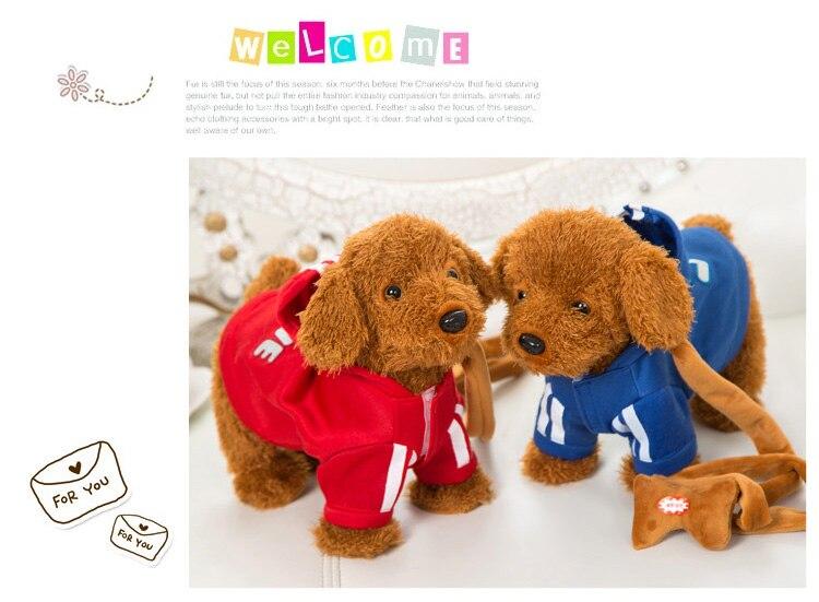 crianças eletrônico brinquedo do cão estimação interruptor controle
