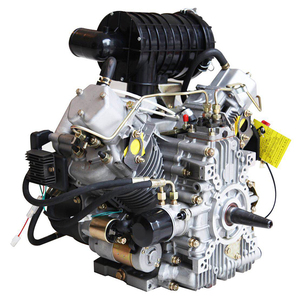 PME-2V88 Two cylinder air cooled straight line 18 hp diesel engine