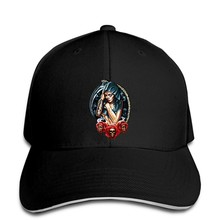R200 Rock Eagle Baseball cap Tattoo Sexy Lady Rose Skull indie XMas Present Gift snapback hat Peaked(China)