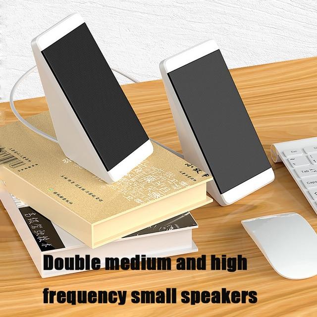 Computer Speakers 2 Pieces PC Elevation Angle Horns for Laptop Desktop Phone Audio Speaker Media Loudspeaker 5