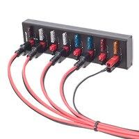Hohe qualität WINDCAMP AP 8 POWERPOLE SPLITTER 8 Kanal netzteil Anderson Power pole T0977|Ersatzteile & Zubehör|Verbraucherelektronik -
