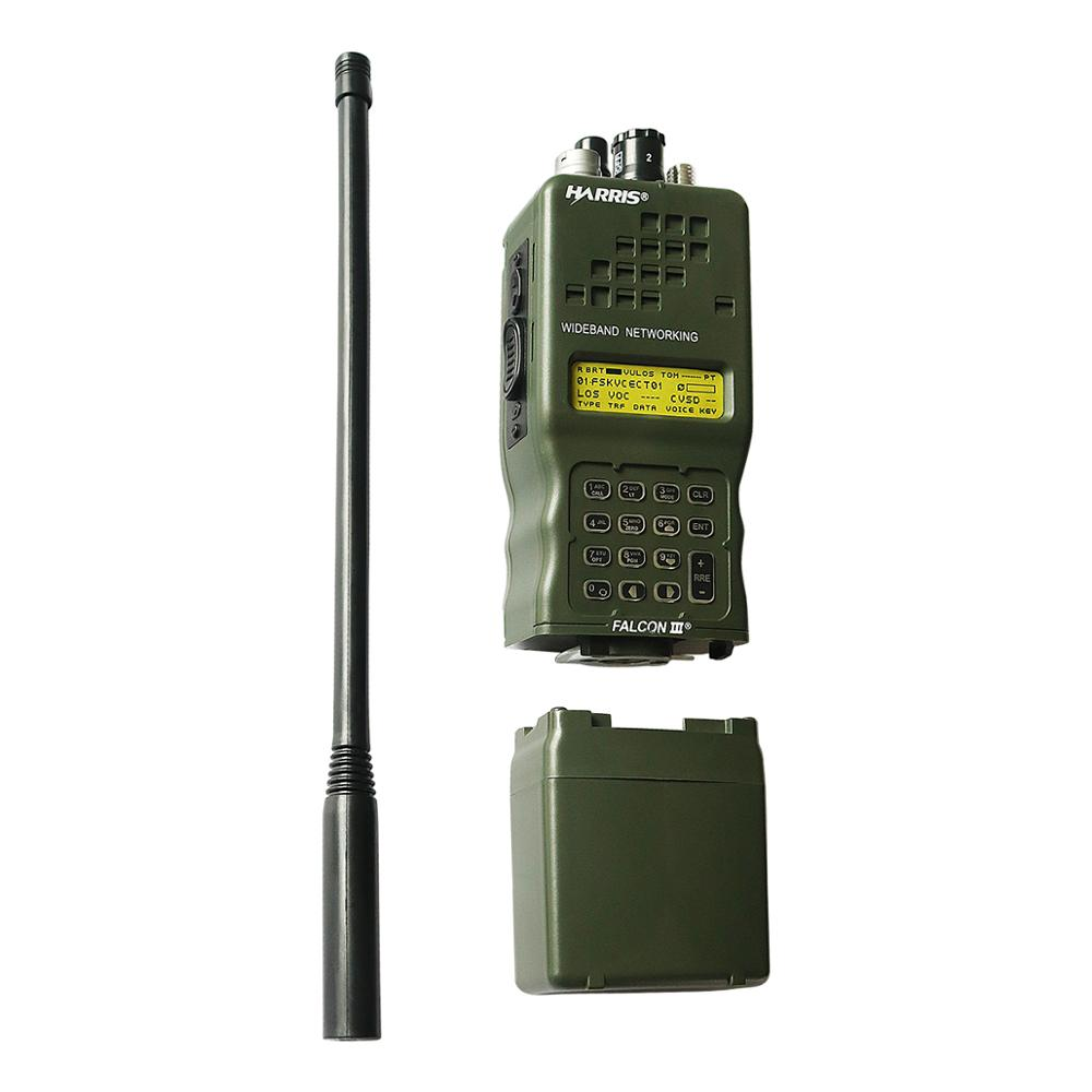 Tactical AN/PRC 152 PRC 152 harris Dummy Radio Case,Military Talkie Walkie Model for Baofeng Radio,No Function-in Walkie Talkie Parts & Accessories from Cellphones & Telecommunications