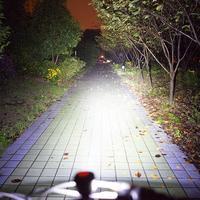 1500 LM Bicycle Light Road Bike Light USB Single Lamp Ball Mountain Road Car Headlights Highlight 1200 Lumens Cycling Lights