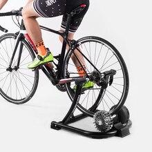 Rockbros prateleira de treinamento e competição, treinador líquido silencioso para bicicleta, mtb, estrada, fitness, para uso interno, rack de treinamento dobrável