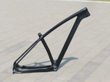 Nova chegada de carbono completo ud mate bicicleta ciclismo 29er mountain bike mtb quadro através do eixo/liberação rápida 15
