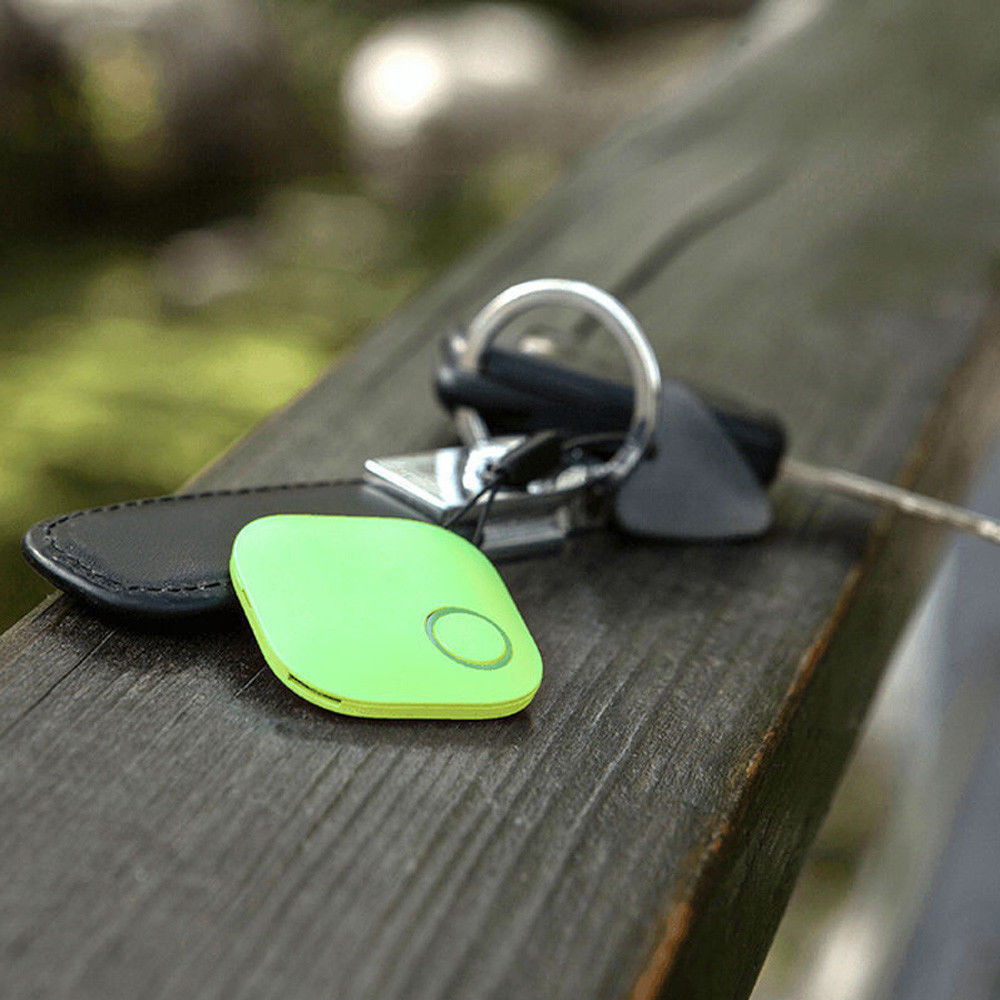Smart Tag Wireless Bluetooth Tracker with Anti-lost Alarm Reminder and APP Control System