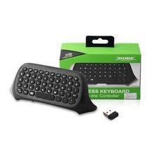 Wireless Keyboard For XBox One Mini Wireless 2.4GHz Keyboard Keypad Online Chat