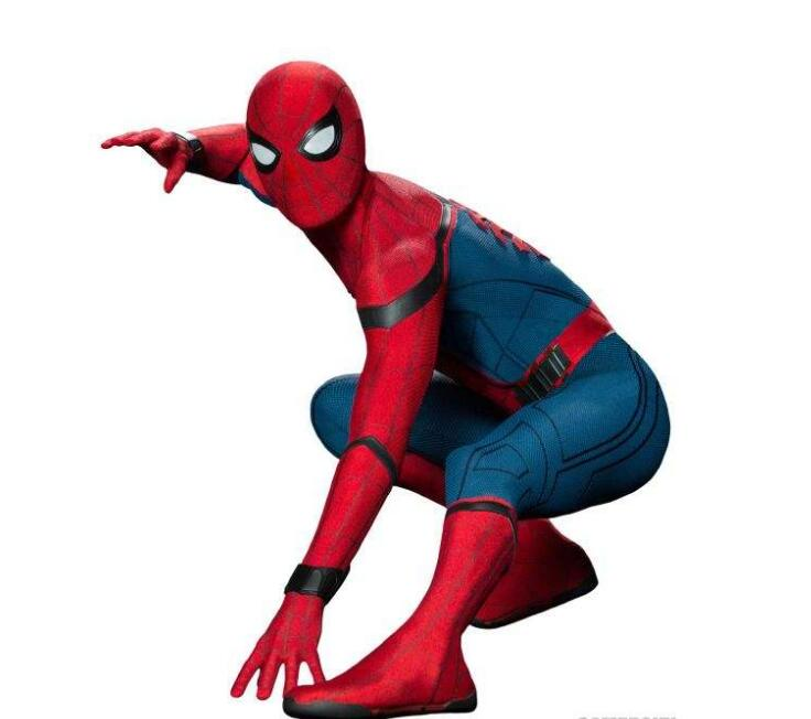 High Quality Spiderman Homecoming Suit Adult Spiderman Costume Kids Child Spider Man Mask Birthday Party Cosplay Clothing