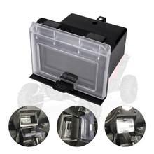 Kemimoto rzr acessórios abs centro caixa de armazenamento traço rzr centro compartimento para polaris rzr xp 4 s 1000 900 eps 2014-2019