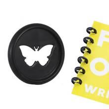 20 шт 26 мм Бабочка ноутбук пластиковое кольцо переплет гриб