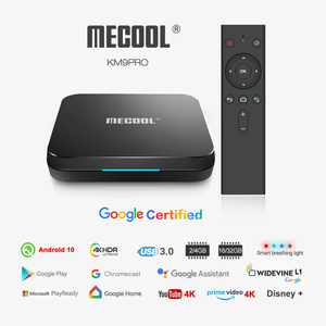 Image 3 - MECOOL KM3 ATV Androidtv Google Certified TV Box Android 10 4GB 64GB Android 9.0 KM9 PRO 4GB 32GB 2G 16G Amlogic S905X2 4K Wifi