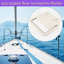 Boat Hatch ABS Marine Access/Deck Hatch for Marine Yacht RV Non-Slip Removal Knob Anti-Aging Boat Accessories Marine