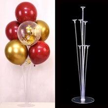 Baby Shower 11 Tubes Balloon Holder Column Balloons Stand Confetti Kids Birthday Party Wedding Decoration Supplies