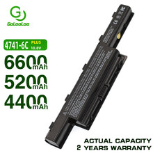 Golooloo batterie pour Acer Aspire 5741 5741G 5750G 7751 7741 AS4250 TravelMate 4740 5740 5742 5744 6495 7740 7340 8472 8572 8573(China)