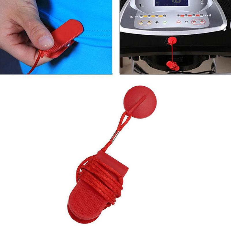 Treadmill Safety Switch Safety Lock Magnet Treadmill Key Accessories Safety Clip Universal Fitness Accessories
