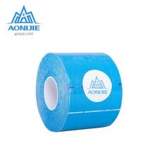 AONIJIE E4112 5 м* 5 см эластичная кинезиологическая лента бинт рулон Спорт физио мышечная боль уход напряжение травма Поддержка тренажерный зал терапевтический