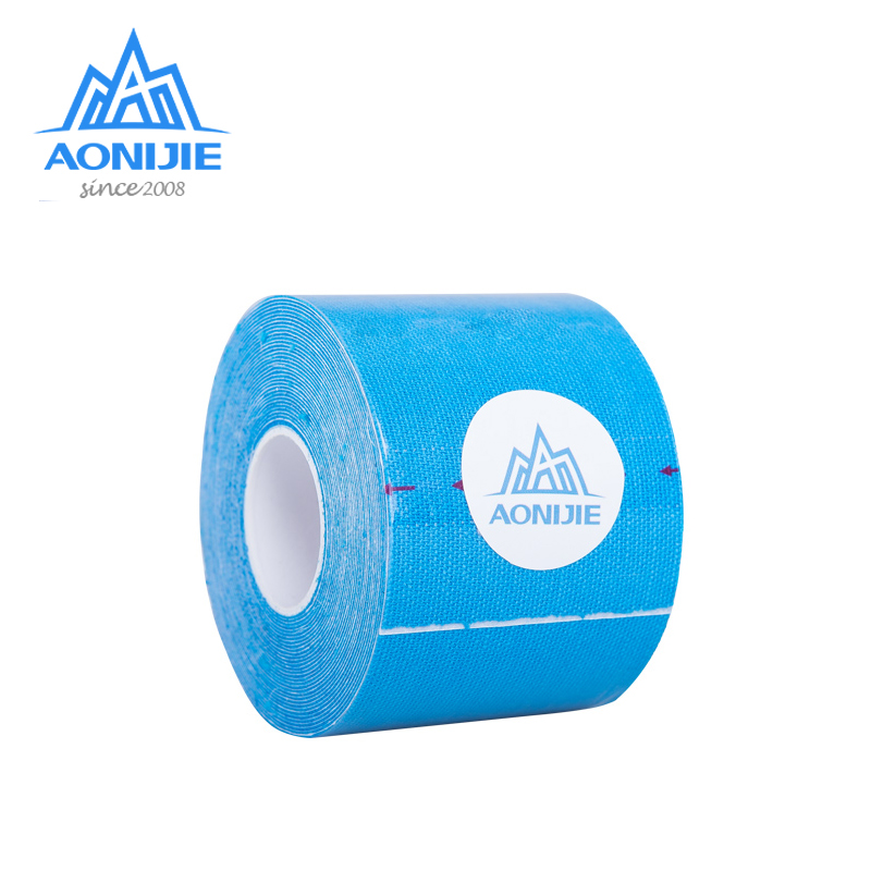 AONIJIE E4112  5M*5cm Elastic Kinesiology Tape Bandage Roll Sports Physio Muscle Pain Care Strain Injury Support Gym Therapeutic