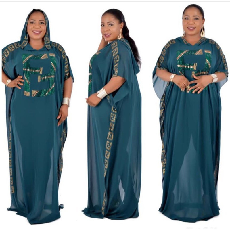 African Dresses For Women African Clothes Dashiki Dress Boubou Africain Dresses For Women Ankara Dress Women's Dress 2019