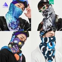 Унисекс вектор 2020 Зимняя Теплая Лыжная маска для велоспорта