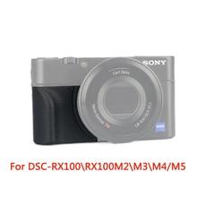 AGR2 Kèm Tay Cầm cho Sony AGR2 Kèm Cầm Nắm và Máy Ảnh KTS Sony Cyber shot DSC RX100 DSC RX100M2 DSC RX100M3 DSC RX100M4 DSC RX100M5