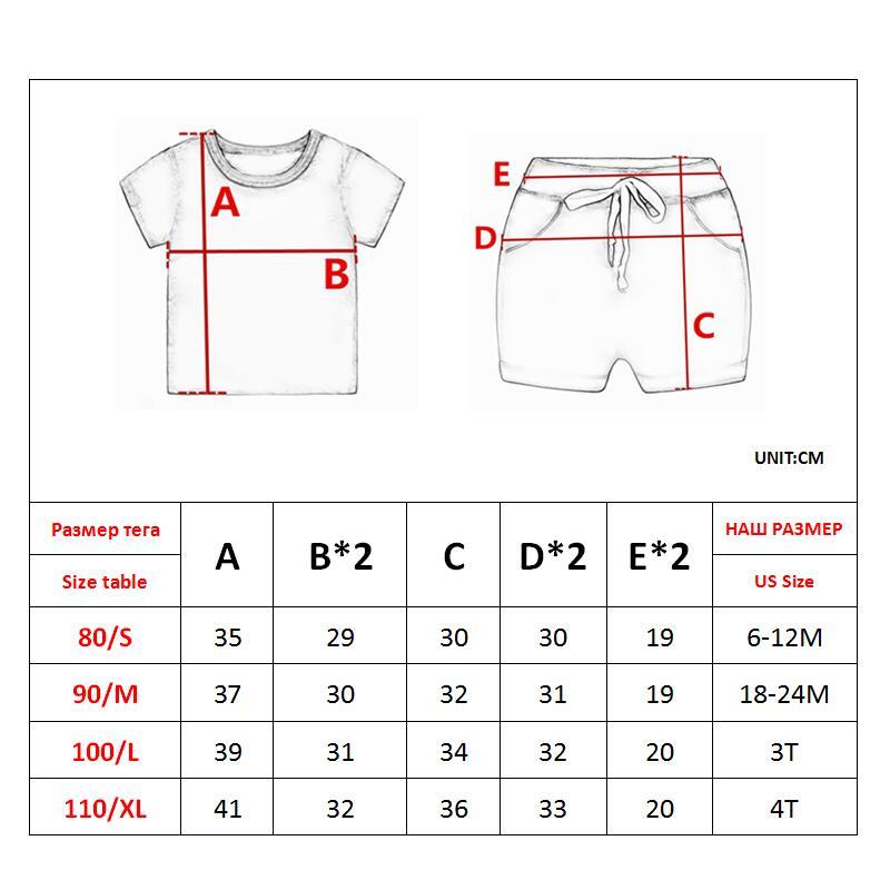 Cute Toddler Boy Summer Set 2021 New Cartoon Dinosaur Print Short Sleeve Shirt + Pants for Kid Baby Boys Clothes 6