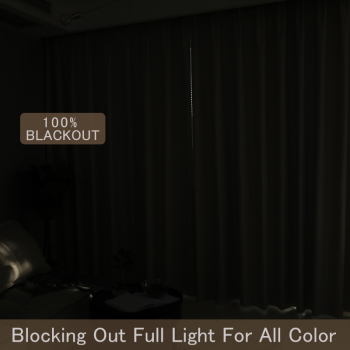 100% Solid Blackout Curtain 2