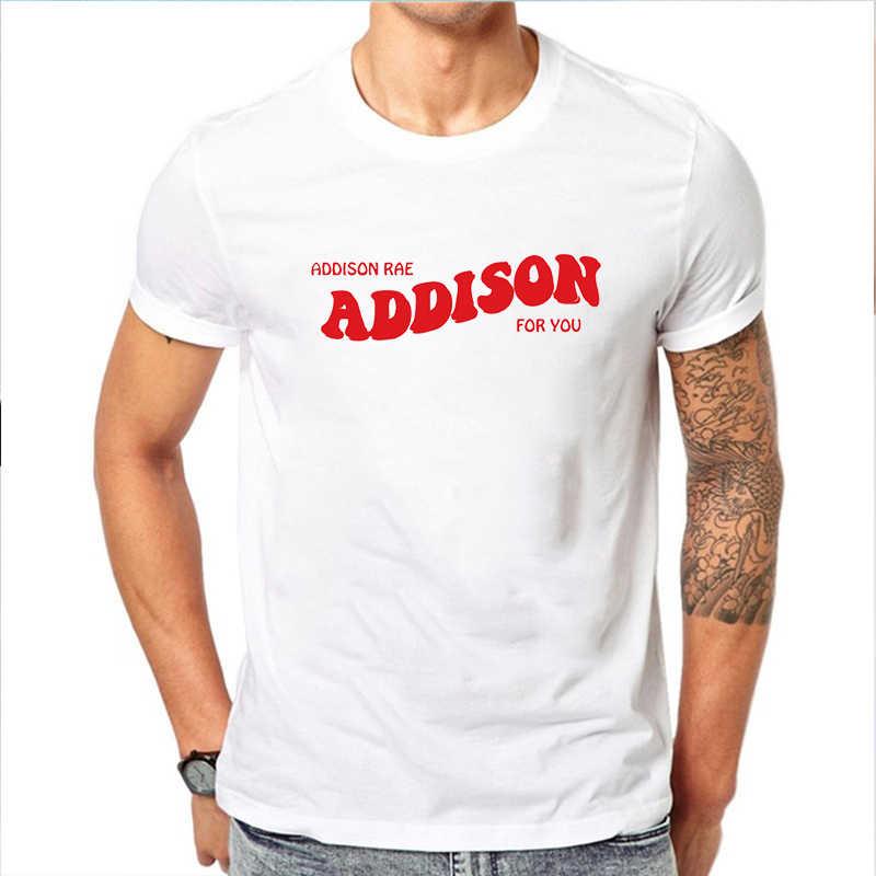 Streetwear T-shirts Addison Rae Tee Shirt Addison Voor U Tops Vrouwen 2020 Pouty Gezicht Harajuku Top Camiseta Mujer Mens tee Tops