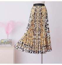 high waisted pleated Length skirt women solid color ruffle Length skirt Elastic Waist Print Maxi Dress Medium self belt ruffle waist high split skirt