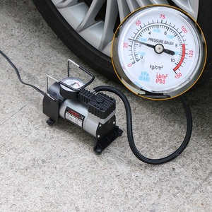 Image 4 - 12V Portable Car Electric Inflator Pump Air Compressor 100PSI Electric Tire Tyre Inflator Pump for for Auto Bicycles Motorcycl
