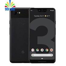 """Разблокированный Google Pixel 3XL сотовый телефон 6,"""" Qualcomm845 двойная фронтальная камера 4 Гб ram 64 Гб/128 ГБ отремонтированный телефон"""