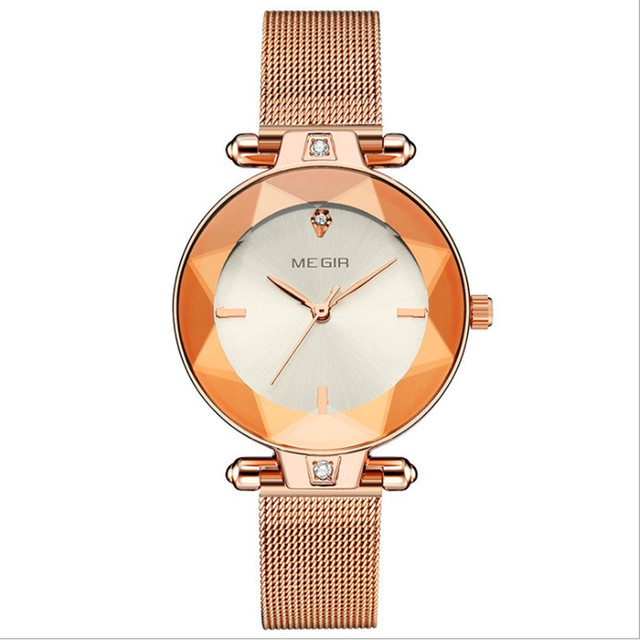 Fashion personality business quartz lady watch ultra-thin dial elegant mesh band watch10 | Fotoflaco.net