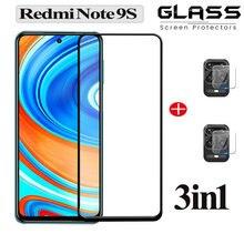 Закаленное стекло для  xiaomi redmi note 9 s камеры Защитное