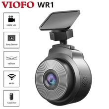 VIOFO WR1 конденсатор с алюминиевой крышкой, Wi-Fi, Видеорегистраторы для автомобилей Регистраторы Full HD 1080P 30fps чип Novatek 160 градусов с циклическое З...