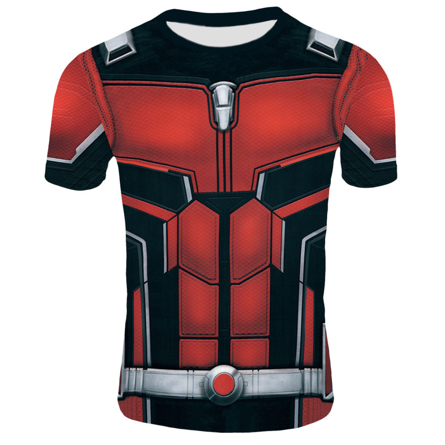 2019 New 3D Printed Short sleeved T shirt Marvel Avengers 4 Role playing Quantum Warfare Annihilation US Team Hydra Short Sleeve in Movie TV costumes from Novelty Special Use