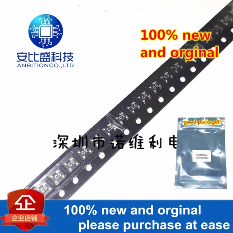 10pcs 100% New And Orginal HSMS-2825-TR1G SOT-143 Silk-screen C5xx HSMS-2825-TR1in Stock