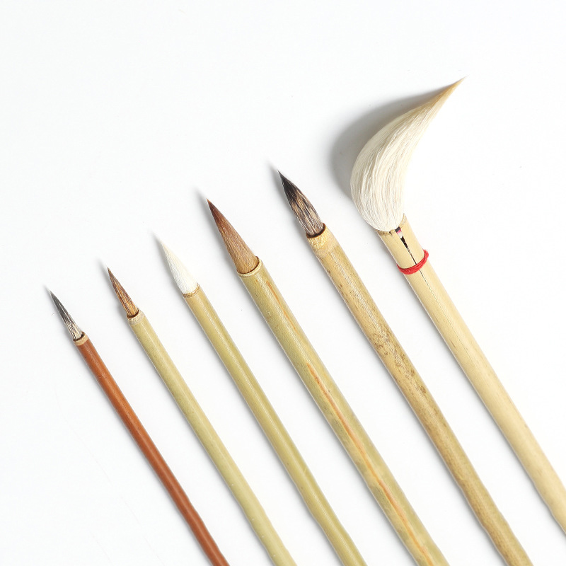 Watercolor Drawing Hook Line Pen Calligraphy Brush Chinese Writing Brush Paint Brush Artist Painting Brushes School Supplies