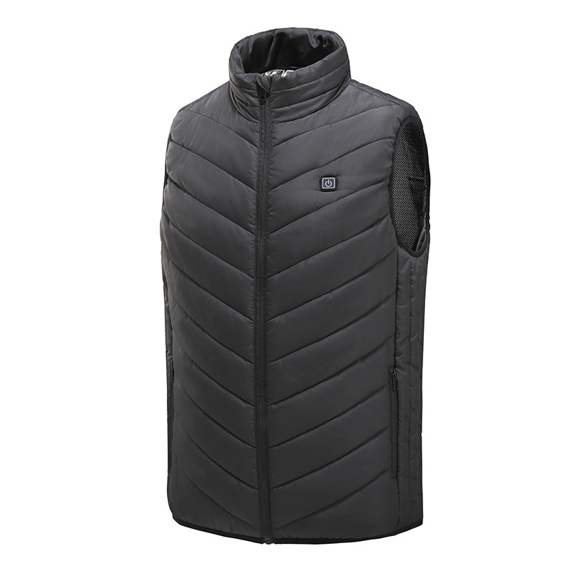 Outdoor Self-heating Vest Men And Women COUPLE'S USB Fever Vest Electric Fever Clothes Carbon Fiber Fever Clothes