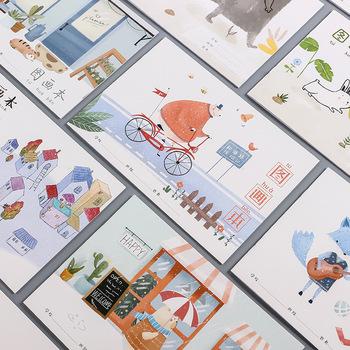 16 otwórz czyste drewno pulpy papieru akwarela to przenośne malarstwo szkic szkic szkic uczeń akwarela zestaw papieru tanie i dobre opinie Malarstwo papier 16 pages 4 books