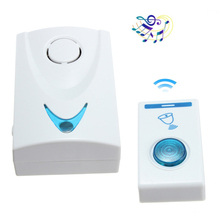 Smart Wireless 150M Remote Control LED Wireless Doorbell 32 Songs Chime Door Sweet Music Bell