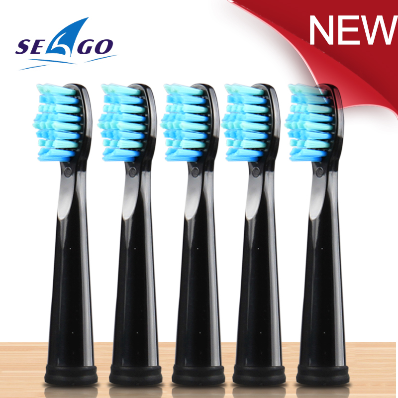 SEAGO Brush Head Sonicare Electric Replacement Brush Heads Sonic Toothbrush Hygiene Care Set (5 Heads) Alfawise So White Healty