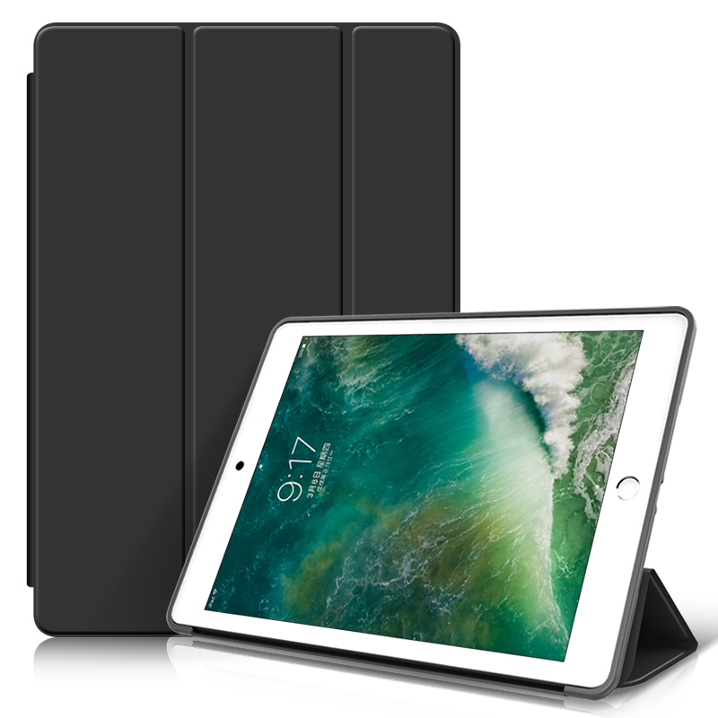 Case for iPad 9.7 2018 2017 Tablet Funda for iPad 5th Gen Magnetic Stand Silicone Soft Smart Cover for iPad 6th Generation Case