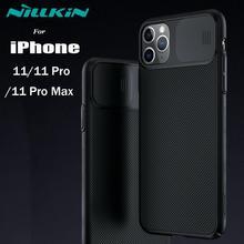 Iphone 11 11 Pro Max 케이스 용 카메라 보호 케이스 NILLKIN Slide iPhone 11 Pro Max 용 커버 렌즈 보호 케이스 보호