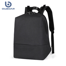 OUBDAR 2020 New Anti theft backpack 14.0 inch Men School Laptop Backpacks Water Repellent Travel Multi USB Charger Male Mochila