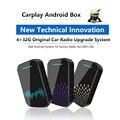 Carplay Беспроводная с 4 + 32G Carplay ai box Поддержка android автоматическое зеркальное соединение Plug and Play для универсальных автомобилей с carplay