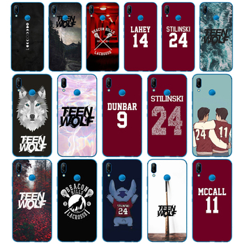 Teen Wolf Stilinski 24 McCALL 11 LAHEY 14 DUNBAR 9 Coque funda para Huawei P9 P10 P20 P30 Lite mate 10 20 PRO lite p smart 2019